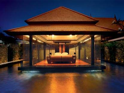Luxury private villas at Banyan Tree, Bang Tao