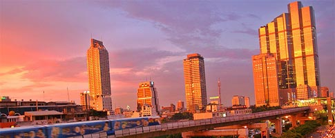 Bangkok City Downtown car hire deals