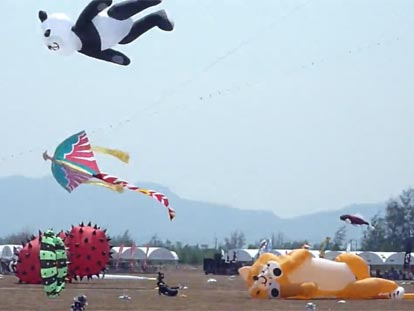 International Kite Festival in Hua Hin Thailand