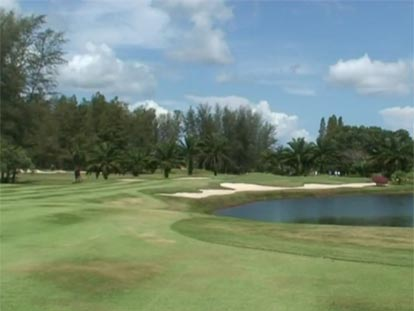 Laguna Golf Club next to Dusit Thani Resort