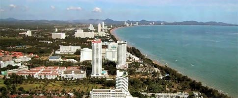 Pattaya Car Hire and rental deals at Pattaya beach