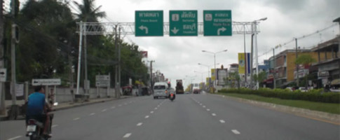 Highway in Rayong, Car Hire Rayong